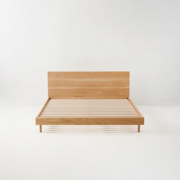 leni bed american oak without foam
