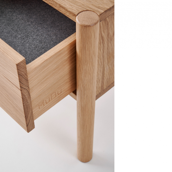 axel bedside table drawer